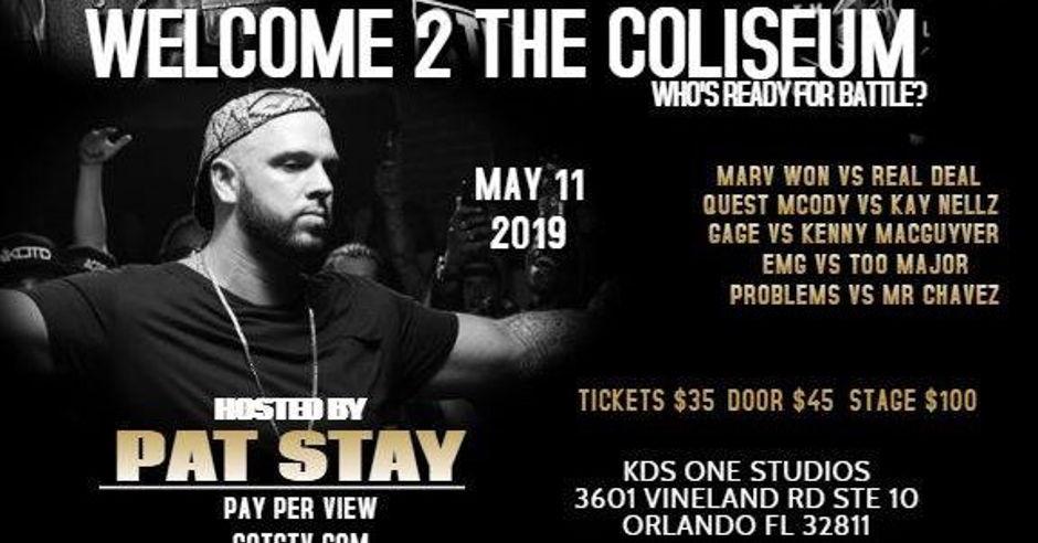 GOTC: Welcome 2 the Coliseum - Events - Universe