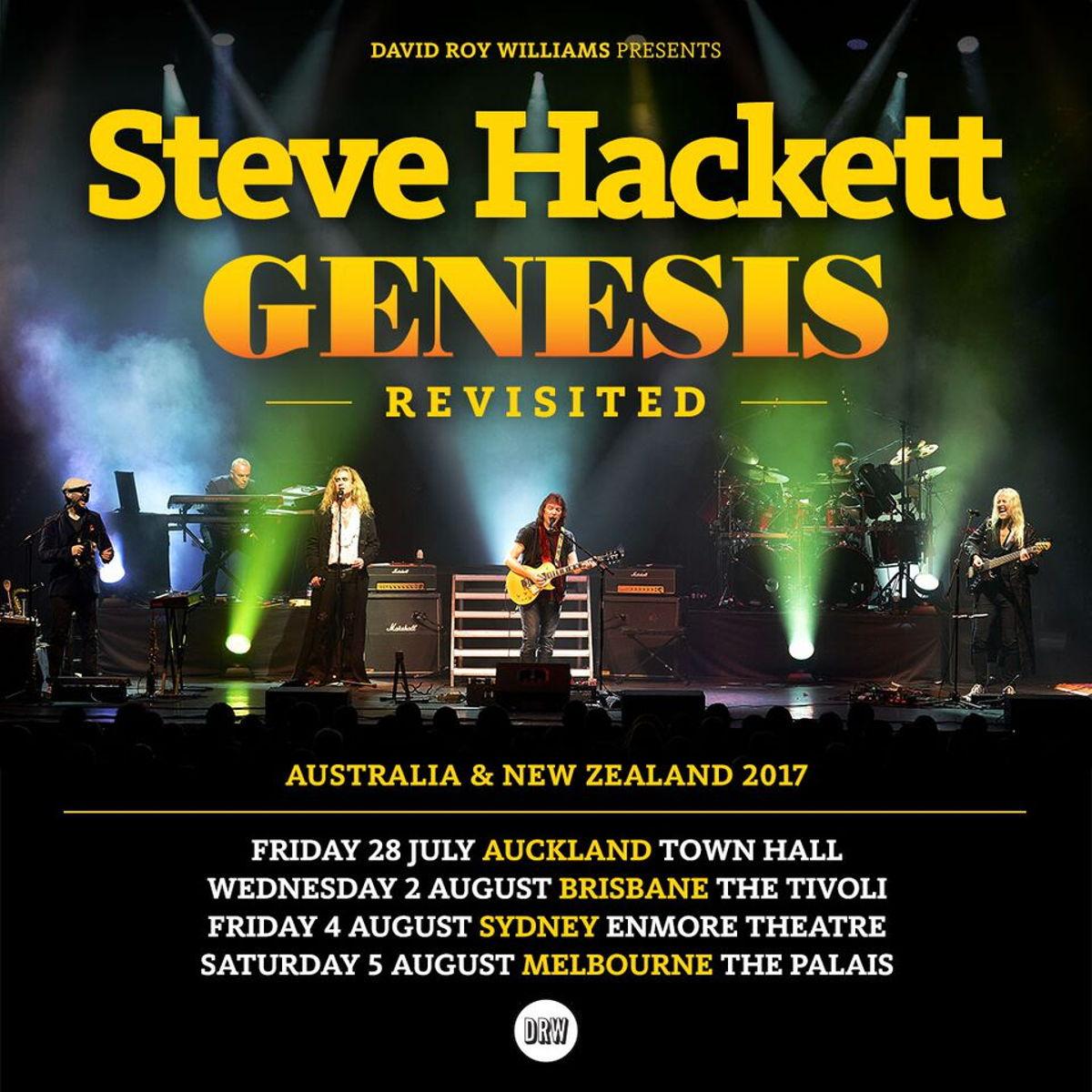 Steve Hackett Vip Meet Greet Package Auckland Universe
