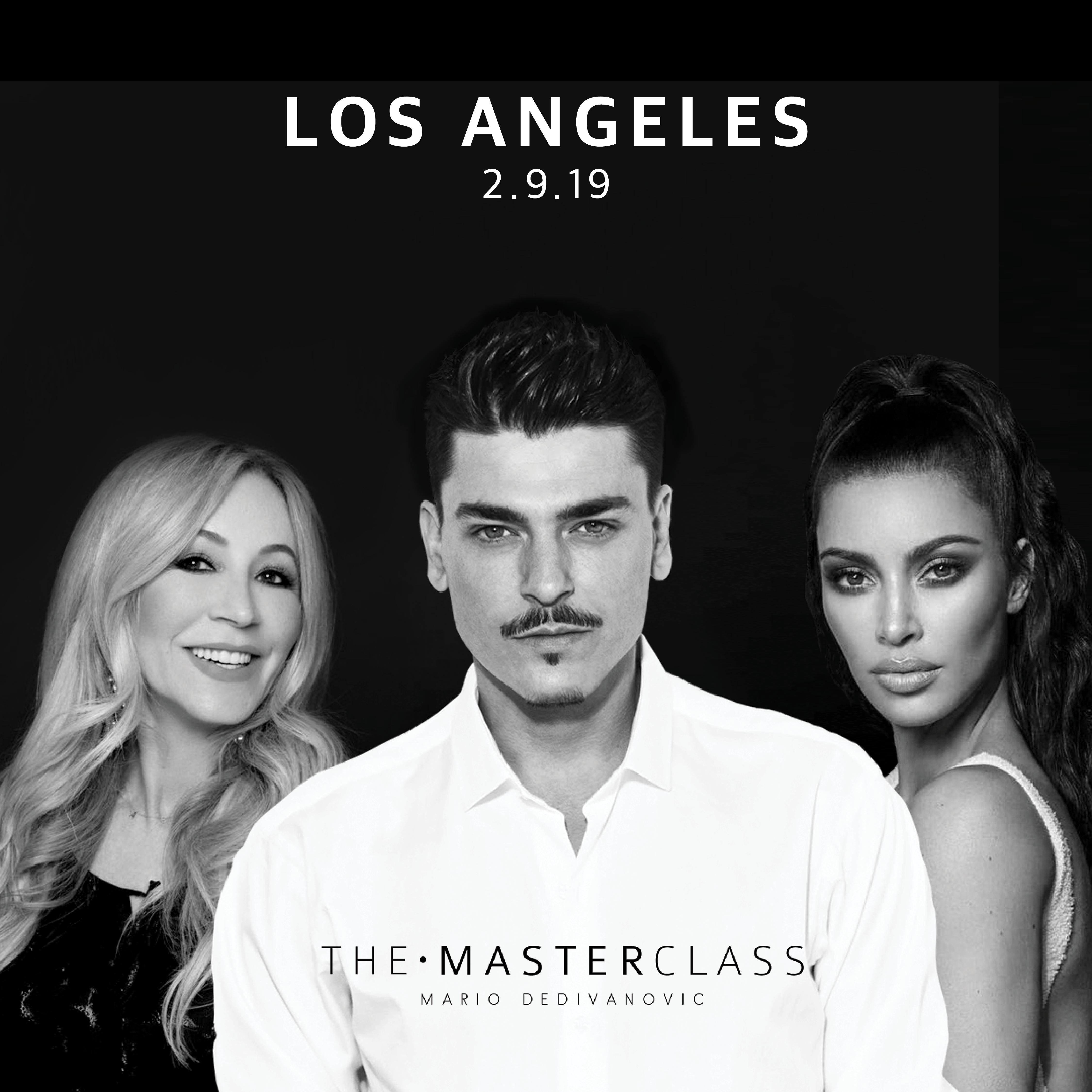 The Masterclass by Mario Dedivanovic with Kim Kardashian