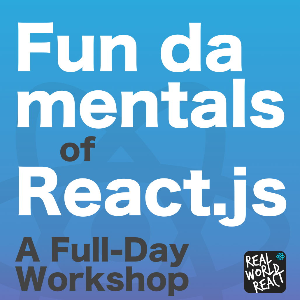 Fundamentals of React js: Building an E-Commerce App (JavaScript Workshop)