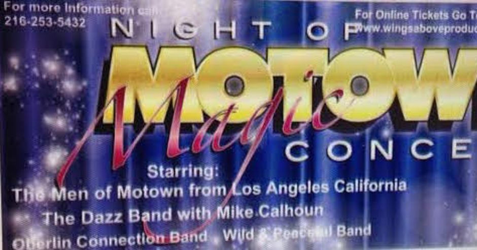 Night Of Motown Magic Concert Event - Events
