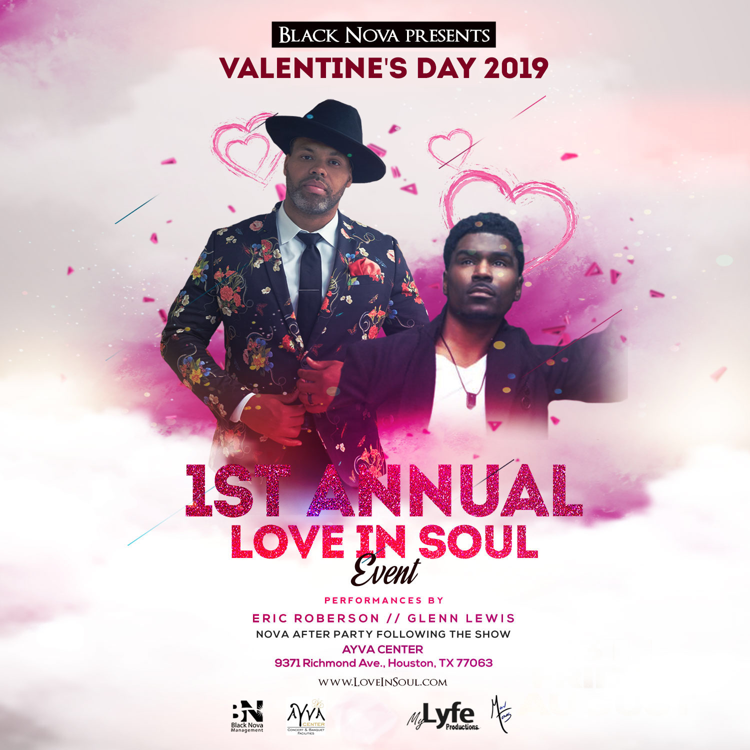 Black Nova Mgmt Presents The 1st Annual Valentine S Day Love In Soul