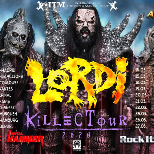 LORDI VIP Ticket FI - Seinäjoki