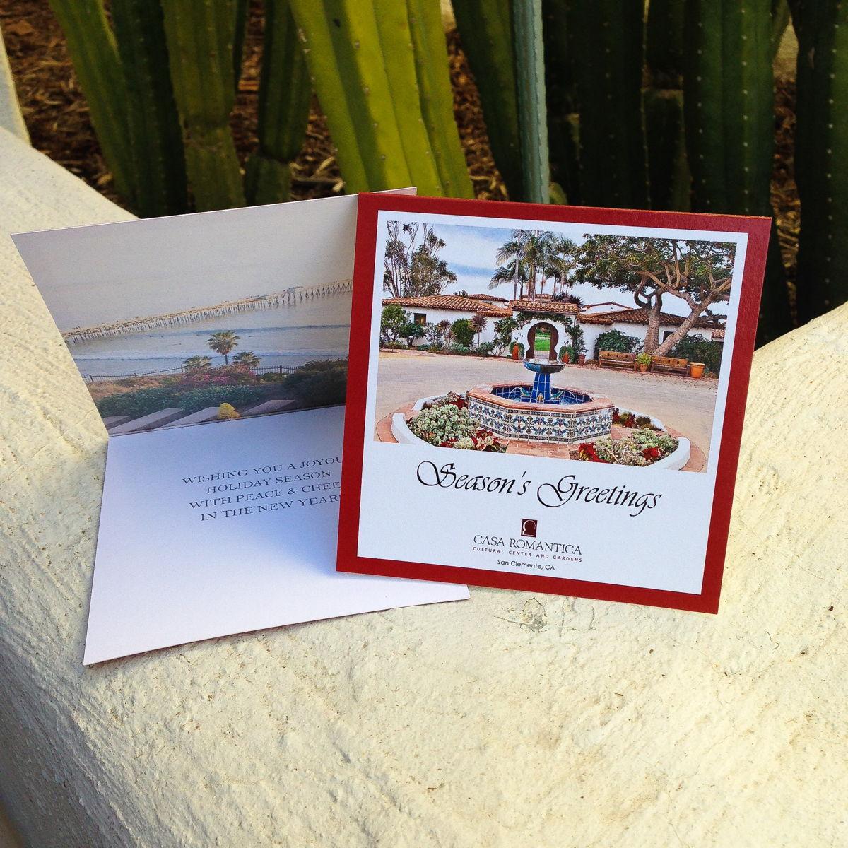 Casa Romantica Greeting Cards Set Of 10 Universe