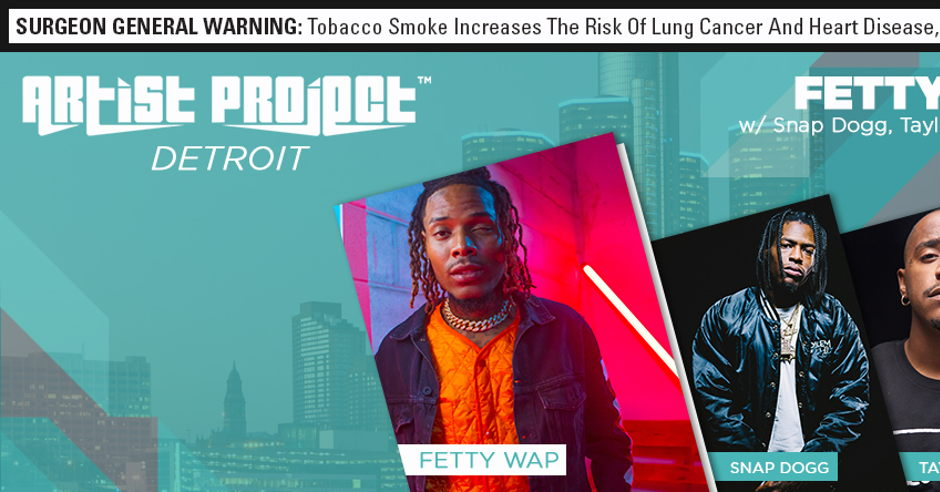 Swisher Sweets Artist Project - Detroit Pack Night
