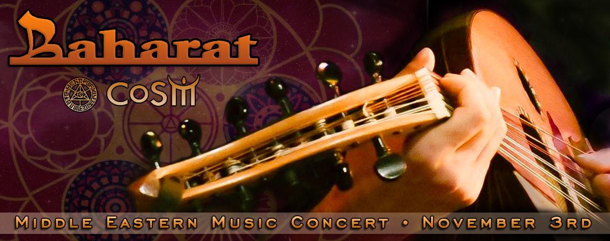 Baharat Middle Eastern Music Concert