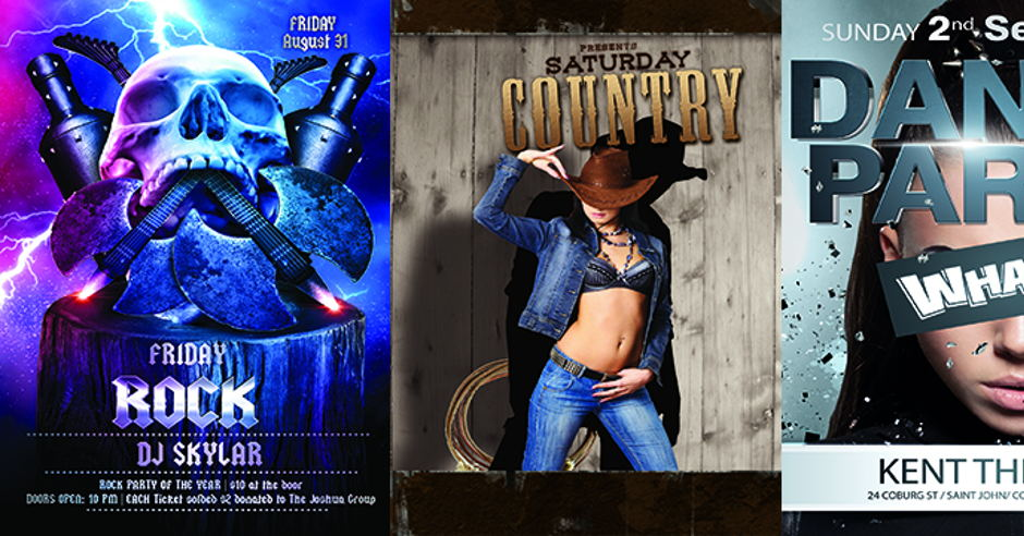 ROCK COUNTRY DANCE PARTY
