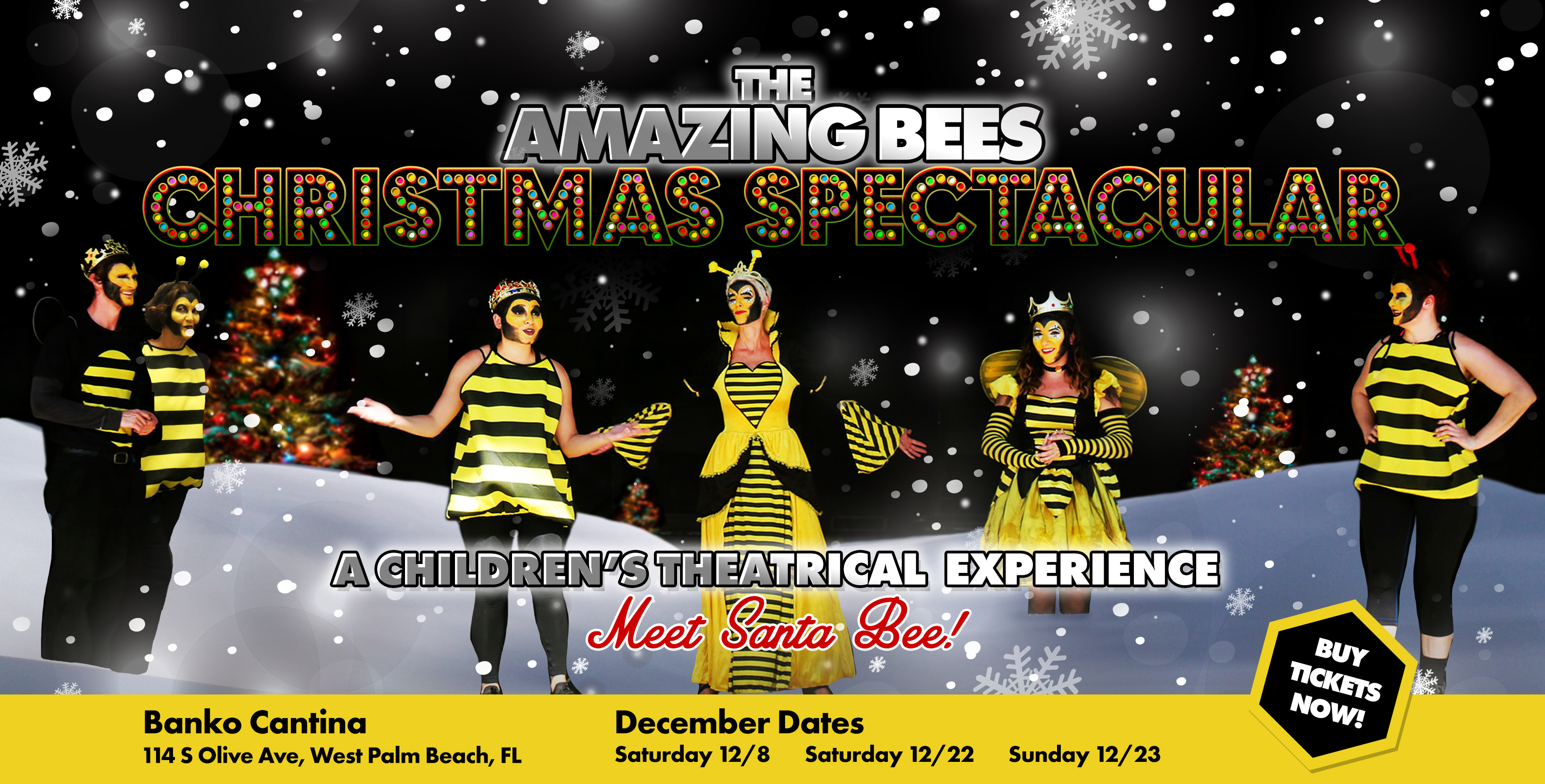 Amazing Bees Christmas Spectacular - A children\'s theatrical ...