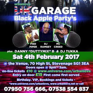 Urban Love Black Apple Party's