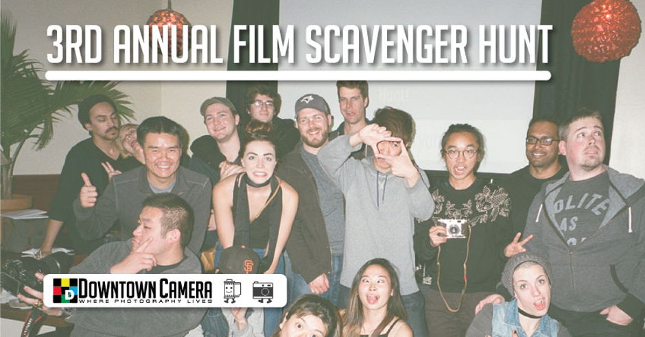Downtown Camera's 3rd Annual Film Scavenger Hunt