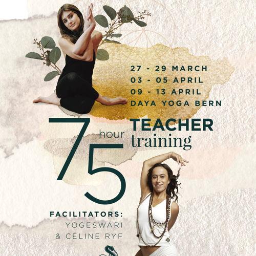 75 hour Teacher Training at Jivamukti Yoga Bern