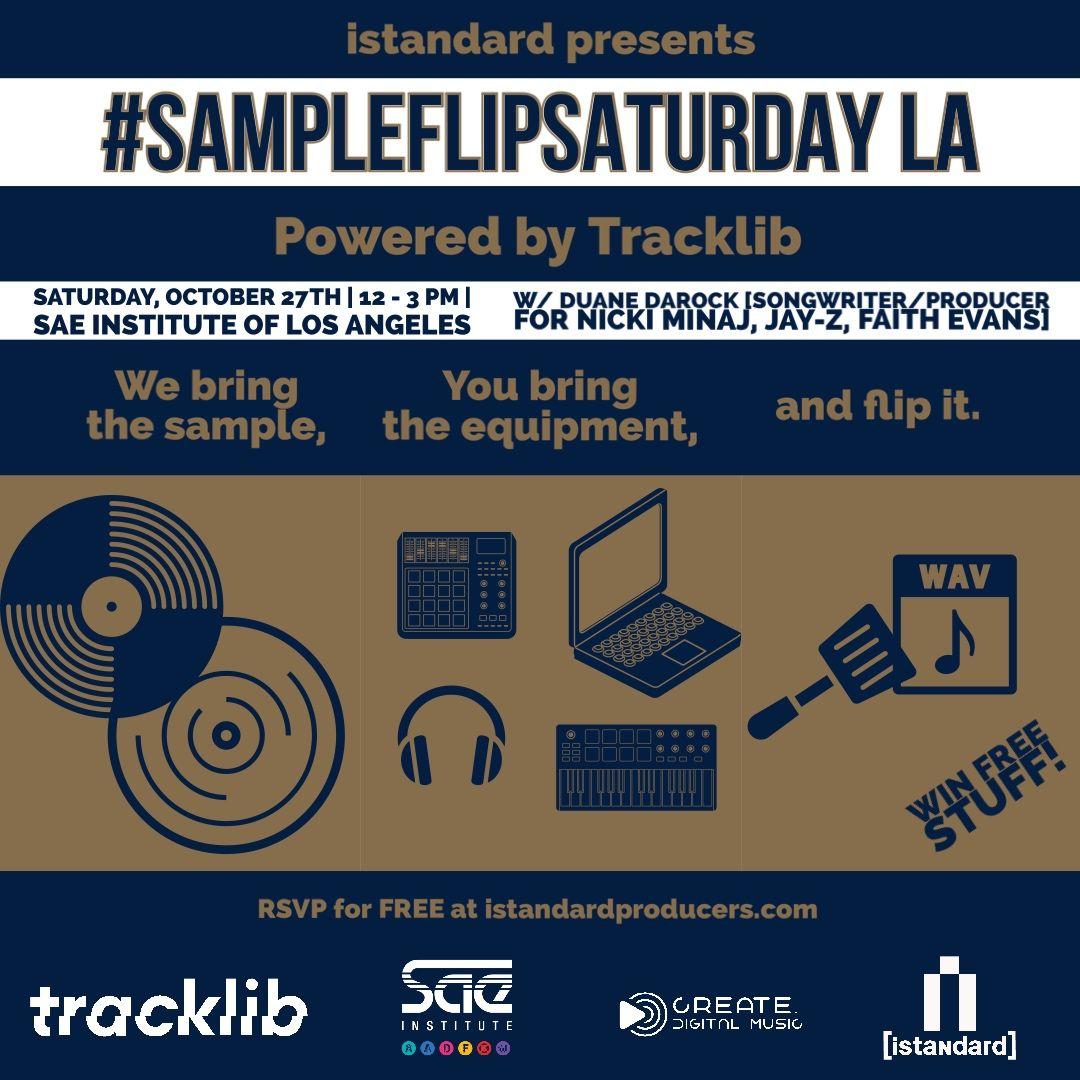 SampleFlipSaturday - LA - Events - Universe