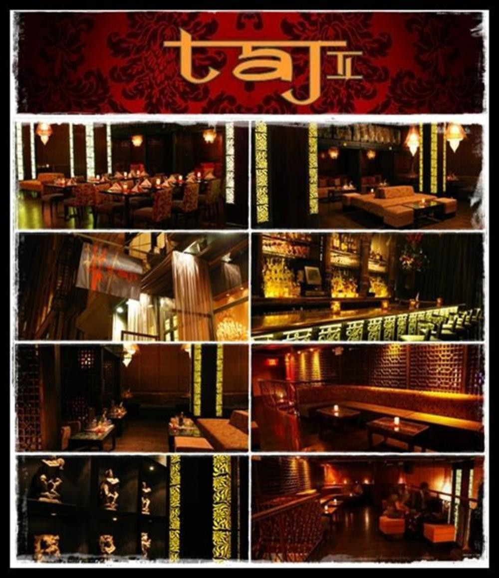taj II guest list bottle service nyc nightclub