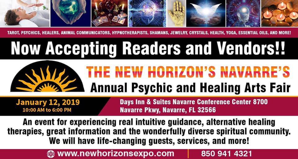 The New Horizon's Navarre's Annual Psychic and Healing Arts