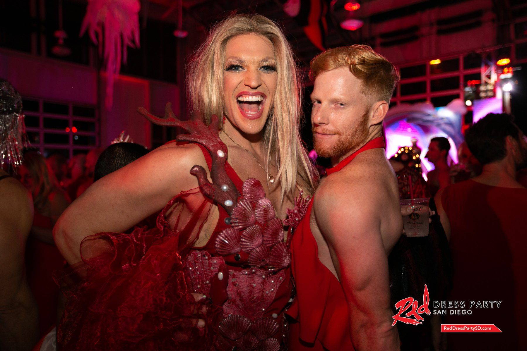 Red Dress Party San Diego 2019 - Events -
