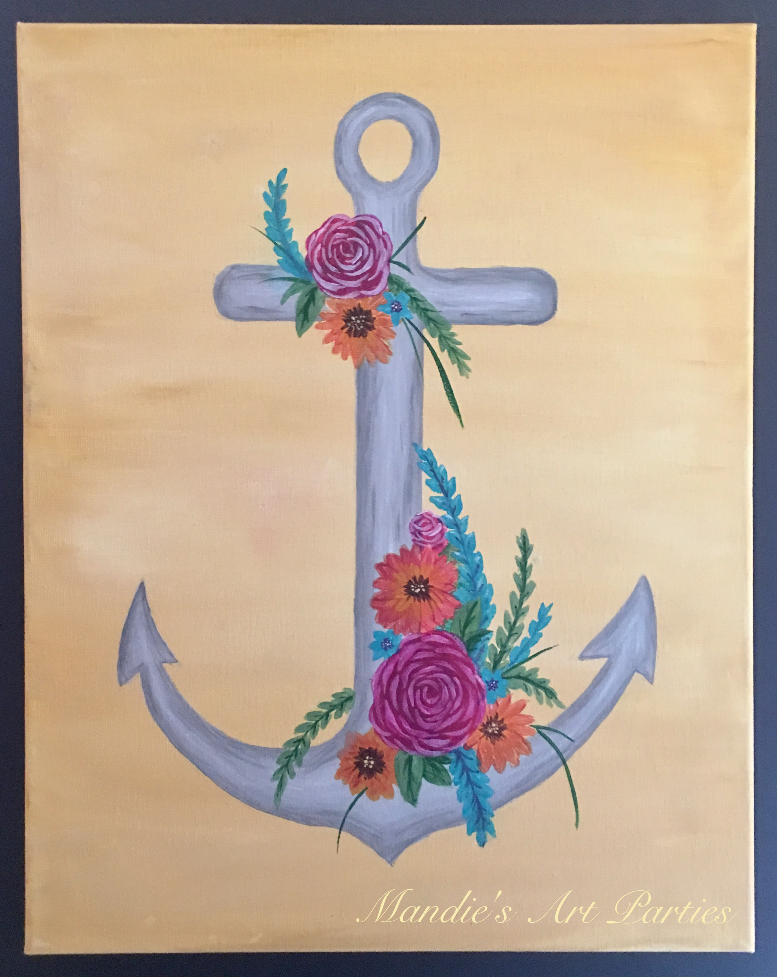 Anchor Of Hope Fundraiser Art Party Universe