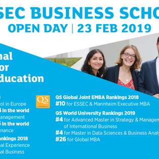 ESSEC Open Day 2019 - Events - Universe